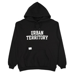 WTAPS Urban Territory Hooded Sweatshirt Black