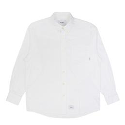 WTAPS BD LS Shirt White