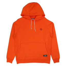 NH Athle LS Hooded Sweat Orange