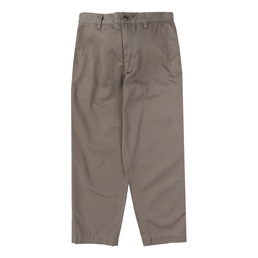 WTAPS Khaki Twill Trousers Brown