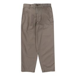 WTAPS Khaki Twill Trousers Brown