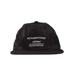 WTAPS T-6 01 Cap Black