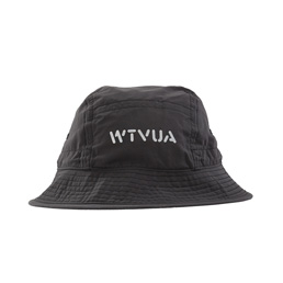 WTAPS Bucket Nylon Tussah Hat Black