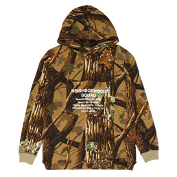 NH Overlap LS Hooded Sweat Camouflage