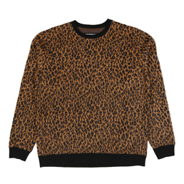NH Leo LS Crewneck Sweatshirt Brown