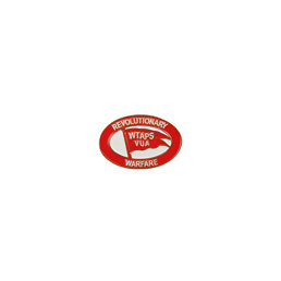 WTAPS Pins 02 Badge Red