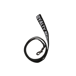 NH S&L Dog Lead Black