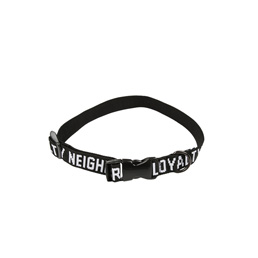 NH S&L Large Dog Collar Black