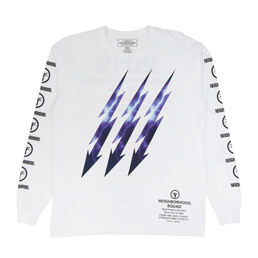 NH Lightning LS T-Shirt White