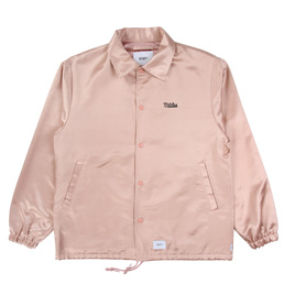 WTAPS Greasers Raco Satin Jacket Pink