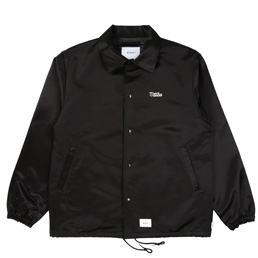 WTAPS Greasers Raco Satin Jacket Black