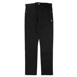 WTAPS Blues Very Skinny Raw Trousers Black