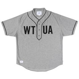 WTAPS SS League Oxford Shirt Gray