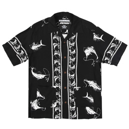 NH Aloha Swordfish SS Shirt Black
