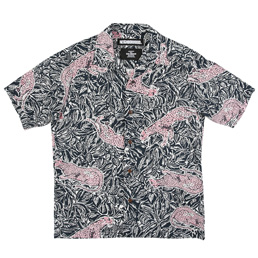 NH Aloha Panther SS Shirt Navy