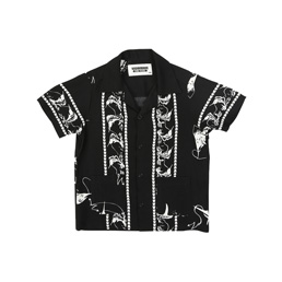 NH 1/3 Aloha Swordfish SS Shirt Black