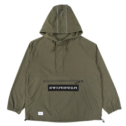 WTAPS SBS Nylon Oxford Jacket Olive
