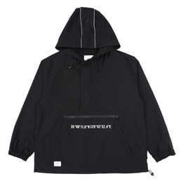 WTAPS SBS Nylon Oxford Jacket Black