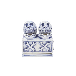 NH Booze Dual Skull CE-Incense Chamber - Blue