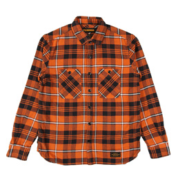 NH Lumbers LS Shirt Orange