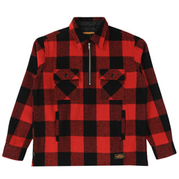 NH P.O. Block / We-Shirt . LS - Red