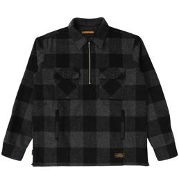 NH P.O. Block / We-Shirt . LS - Black