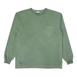 Wtaps Blank LS 03 Tee. Copo - Green