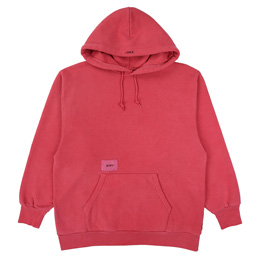 Wtaps Blank Hooded 01 Sweatshirt. Copo - Red