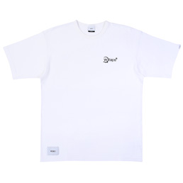 Wtaps Axe. Design SS 02 Tee. Cotton - White