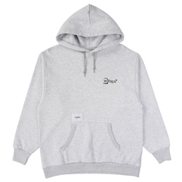 WTAPS Axe. Design Hooded 02 - Grey Heather