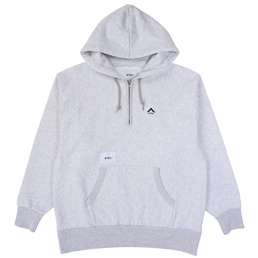 Wtaps Outrigger 01 Sweatshirt. Copo - Ash Grey