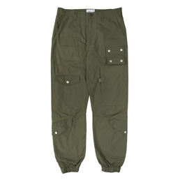 Wtaps Modular 01 Trousers. Cotton Ripstop - Olive