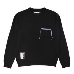 NH Design-2 / W-Knit LS - Black