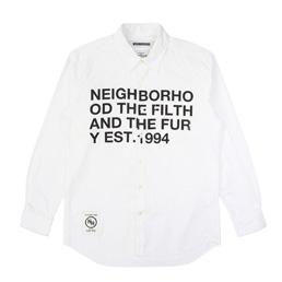 NH Design-1 LS Shirt White