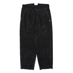 WTAPS Tuck 02 Corduroy Trousers Black