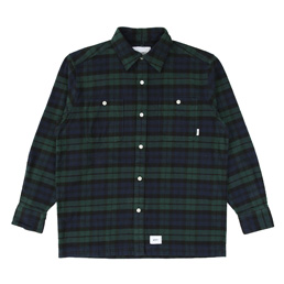 WTAPS Union LS Shirt Green