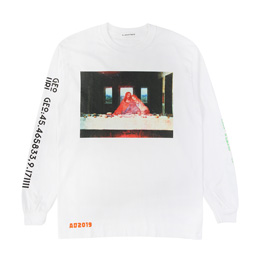 Flagstuff Supper LS T-Shirt White
