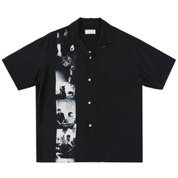 Flagstuff S/S Hawaiian Shirt Black