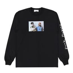 Flagstuff L/S T-Shirt Black