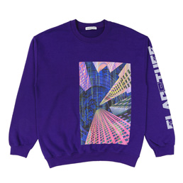 "Flagstuff ""Continually"" Sweat - Purple"