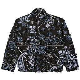 Flagstuff Paisley Mods Jacket Black