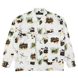 Flagstuff Illegal F/Z Mod Shirt White