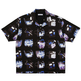 Flagstuff Illegal S/S Shirt Black