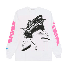 Flagstuff Dream And Reality L/S T-Shirt White