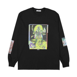 Flagstuff Siva L/S T-Shirt Black