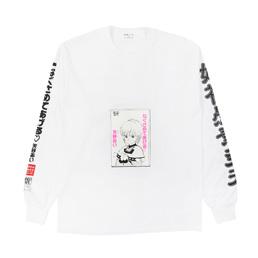 Flagstuff Video L/S T-Shirt White