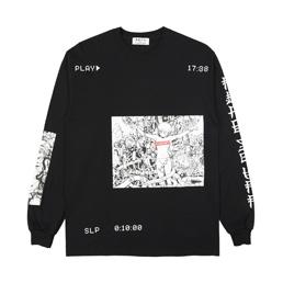 Flagstuff Play L/S T-Shirt Black