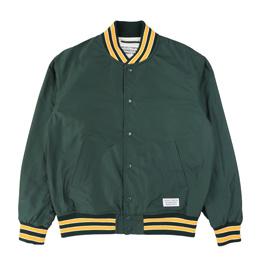 Wacko Maria Varsity Jacket Green