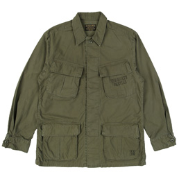 Wacko Maria Fatigue Jacket Khaki