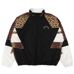 Wacko Maria Leopard Track Jacket Beige